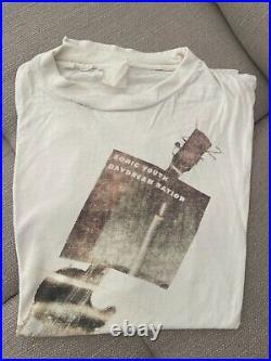 1989 original Sonic youth Daydream Nation vintage band shirt