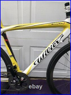 2011 Wilier Triestina Cento 1 Hi-mod Carbon Sram Red