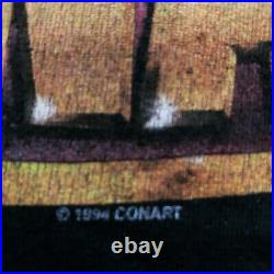 (90's VTG) CONART Shirt L / Graffiti Pnb nation stussy Karl Kani mecca krylon dj