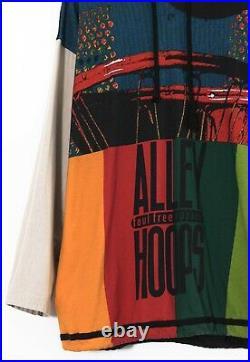 90s Vintage Mens NIKE Alley Hoops Hoodie Basketball Pullover Sweatshirt