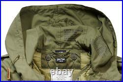 Brandit US Shell Fishtail Parka M51 Kapuze MOD Army Feldparka oliv Futter Liner