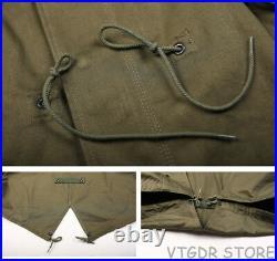 Bronson Repro US Army Fishtail M-51 Parka Shell 1st Vintage Men Military Uniform