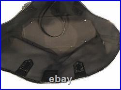 Burberry Tote Bag Pvc Canvas Nova Check Handbag
