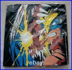Comic Images Vintage 90's Wolverine Black T-Shirt Adult L Unopened Original