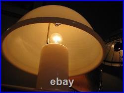 Effetre International Co Rare Murano Glass Large Mushroom Lamp Vintage Italian