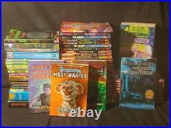 Goosebumps Books Lot / large lot goosebumps and othe titles / over 90 books /