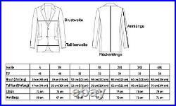 Herren Vintage Lederjacke im 70er Jahre Style aus echtem Rindsleder Slim Fit