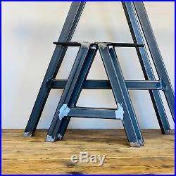 Industrial A Frame Set of 2 Steel Metal Table Legs Dining/Bench/Office/Desk Legs