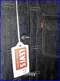 LVC Levis 507XX JacketLAST ONE! 1953 Denim Big E Cone Cotton USA Size L NWT
