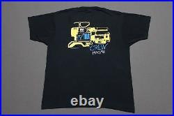L thin vtg 1990 WWF WRESTLING tv tour crew screen stars t shirt 24.138