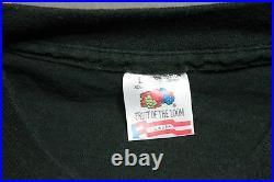L vtg 80s/90s BAUHAUS t shirt goth post punk 8.114