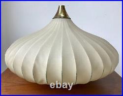 Large Vintage Mid Century Cocoon Bubble Lampshade Castiglioni