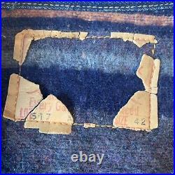 Levis Big E 517xx Type 2 Denim Jacket Selvedge Blanket lined Indigo 1960