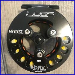 Loop Original Model #2 Large Arbor Fly Reel, Convertible 5-7 WT with 7 WT Line