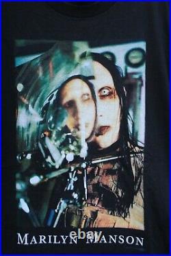Marilyn Manson Antichrist Beautiful People T Shirt L DS Smashing Pumpkins NiN