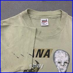 Nirvana Incesticide Vintage 90s Grunge Rock Band T-shirt Kurt Cobain