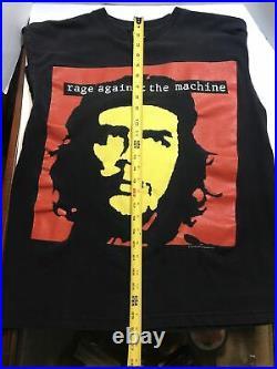 Rage Against The Machine Che Guevara Vintage T Shirt Sz L Giant Tag