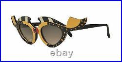 Rare Vintage Louis Feraud Women's Caraibe Kissing Fish Sunglasses Collectible