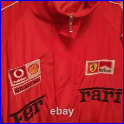 Rare vintage Ferrari Michael Schumacher Marlboro jacket race Size XXL racing