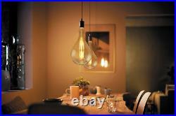 Retro Vintage OVERSIZE LED Light Bulb Pear Shape PS160 Industrial Edison XL Lamp