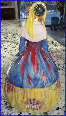 Royal Doulton Sylvia HN1478 Large 11 Lady Porcelain Figurine Vtg Antique RARE