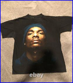 Snoop Doggy Dogg Vintage T Shirt 93 Size L Authentic