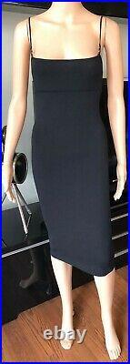 Tom Ford for Gucci 1999 Bodycon Knit Black Midi Dress