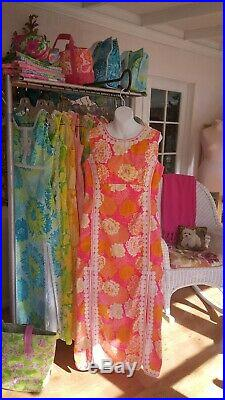 VINTAGE Lilly Pulitzer THE LILLY Maxi dress size Large