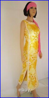 VINTAGE Lilly Pulitzer THE LILLY Maxi dress size M/L