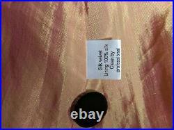 Velvet Silk Opera Vintage Style Coat Cowl Button Collar Hoodie L /104 cm / UK 16