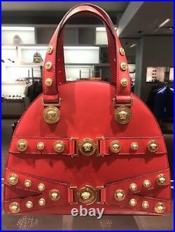 Versace Tribute Medallion Handbag