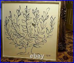 Very Large H. Matisse 1951 Framed Print 1951 The Plain Tree