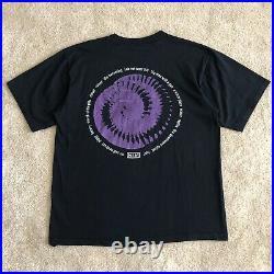 Vintage 1994 Nine Inch Nails NIN Downward Spiral Band Tour Tee Shirt Large