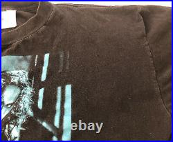Vintage 1995 The Crow Brandon Lee Promo T shirt