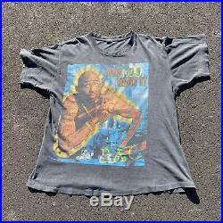 Vintage 90s Tupac Makaveli Rap Tee Hip Hop Snoop Dogg Graphic Shirt Size XL