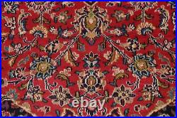 Vintage Ardakan Floral Hand-Knotted Large Area Rug Oriental Wool Carpet 10'x13