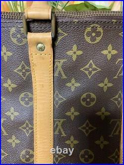 Vintage Authentic Louis Vuitton Keepall 45 In Monogram