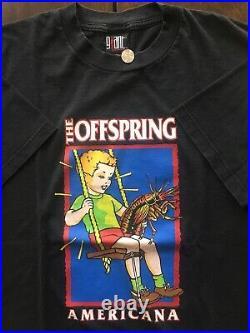 Vintage Band Shirt 90s Offspring Punk Rock Giant Tag