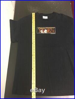 Vintage Birdhouse Skateboards Jesus T Shirt Sz Large RARE 90s Brian Sumner