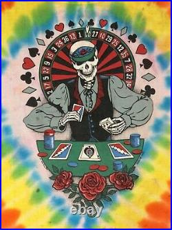 Vintage Grateful Dead Las Vegas Tee Shirt Size L Single Stitched (J7)