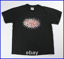 Vintage Hole Shirt 90s Band Tee Large fits M Medium Black T-Shirt