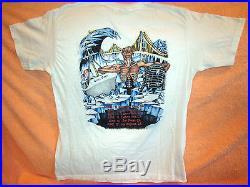 Vintage IRON MAIDEN California Tour Concert Shirt 1988 Lg True Vintage Original