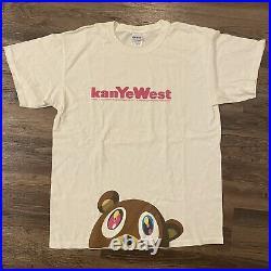 Vintage Kanye West Graduation Official T Shirt Size L Large Takashi Rap Tee