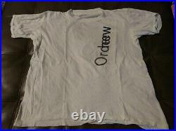 Vintage L 1986 New Order Shirt joy divison the smiths depeche Mode tour New Wave