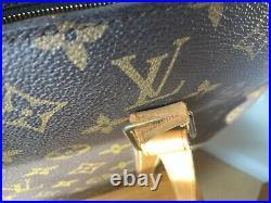 Vintage Louis Vuitton Babylone shoulder tote bag in monogram canvas
