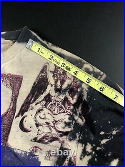 Vintage Mosquitohead Psychic TV Shirt Tee T-Shirt L Large Authentic Hanes Tag