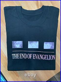 Vintage Neon Genesis Evangelion Shirt Single Stitch