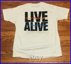 Vintage Stevie Ray Vaughan T-Shirt Sz L