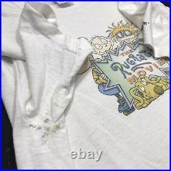 Vintage The Rugrats Movie Nickelodeon 90s Cartoon T-Shirt Mens LARGE