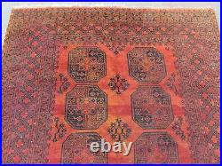 Vintage Worn Hand Made Traditional Oriental Wool Red Large Rug Carpet 230x165cm